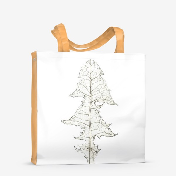 Сумка-шоппер «Лист одуванчика Dandelion Leaf»
