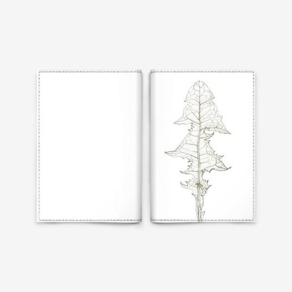 Обложка для паспорта «Лист одуванчика Dandelion Leaf»