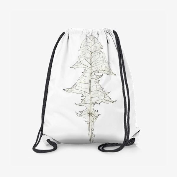 Рюкзак «Лист одуванчика Dandelion Leaf»