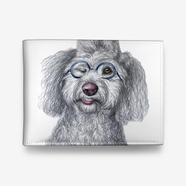 Кошелек «Собака в очках»