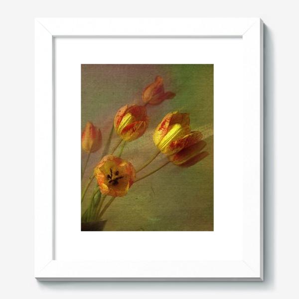 Картина «Тюльпаны и солнечный луч»