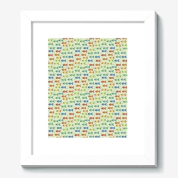 Картина «Радужные рыбки»