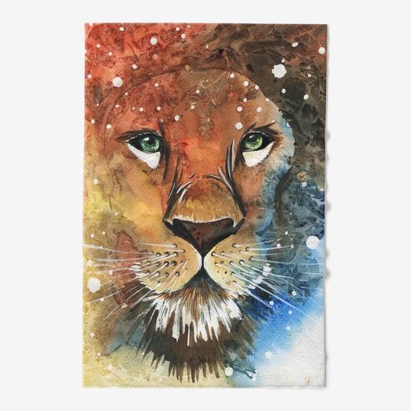 Полотенце «Лев»