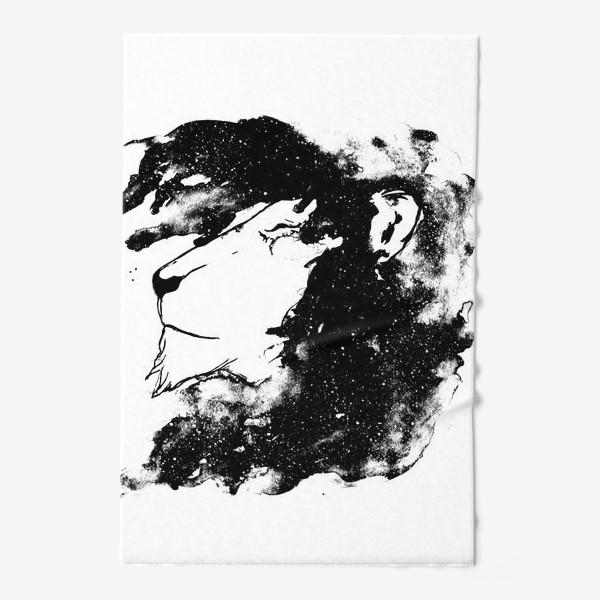 Полотенце «Левушка чб»