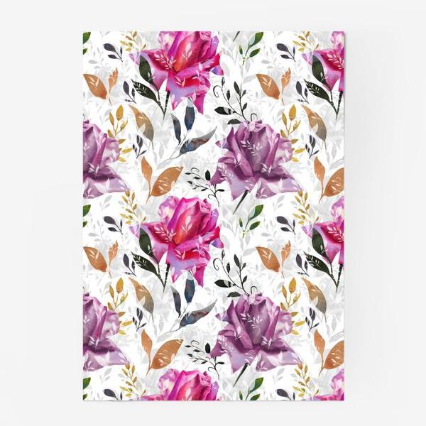 Постер «Summer rose pattern»