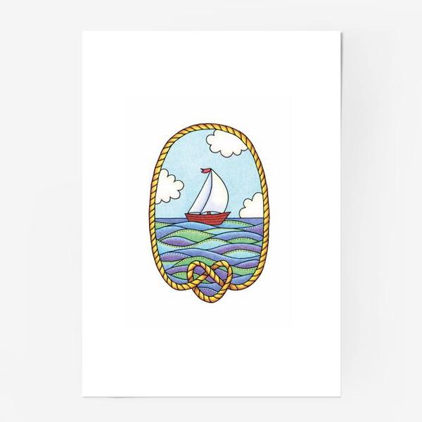 Постер «Кораблик»