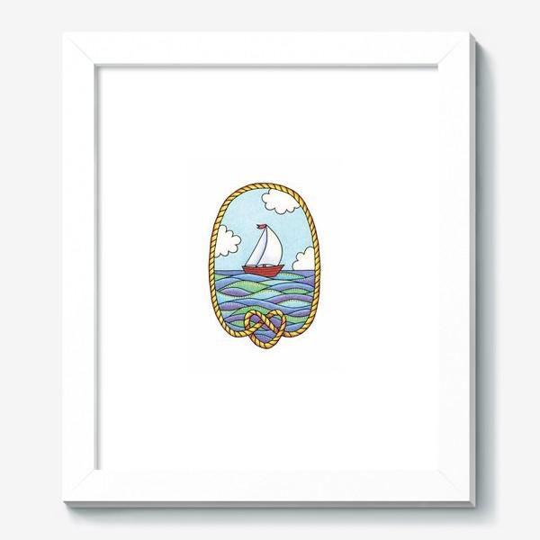 Картина «Кораблик»