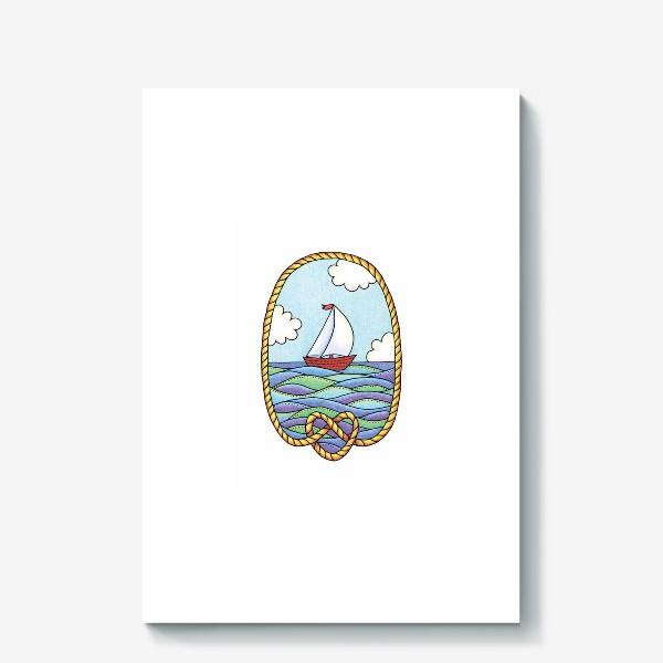 Холст «Кораблик»