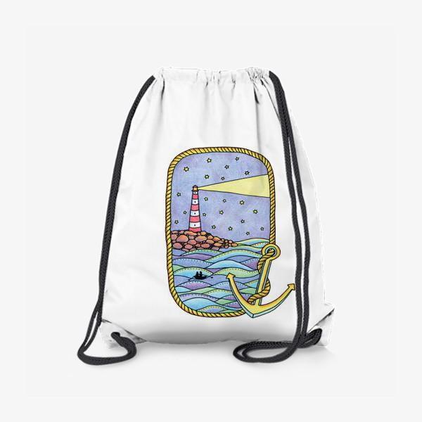 Рюкзак «Маяк и море»