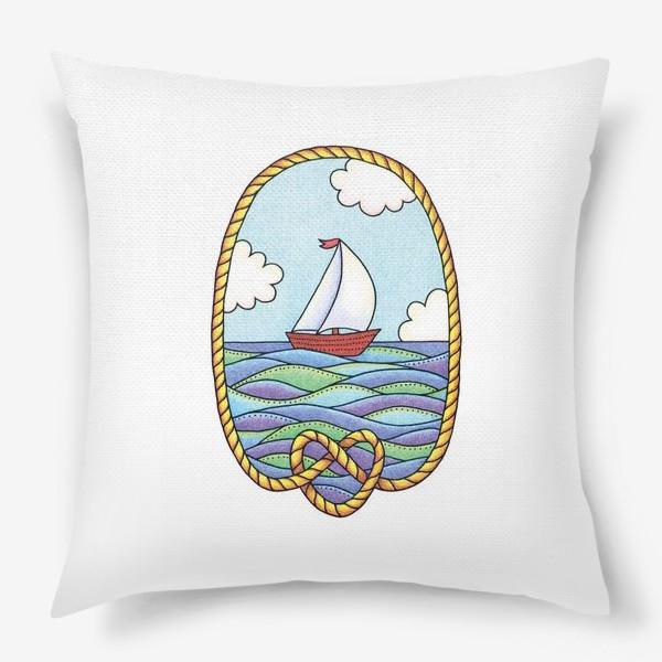 Подушка «Кораблик»