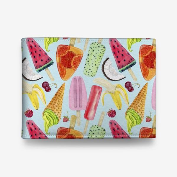 Кошелек «мороженое, фрукты, ягоды »