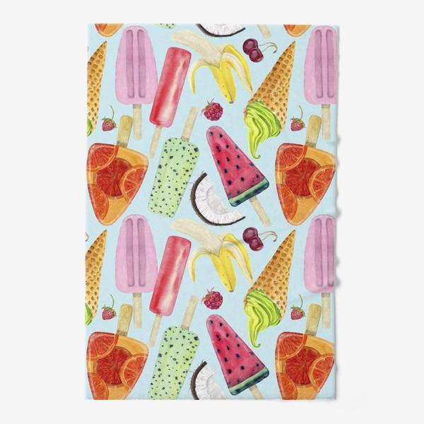 Полотенце «мороженое, фрукты, ягоды »