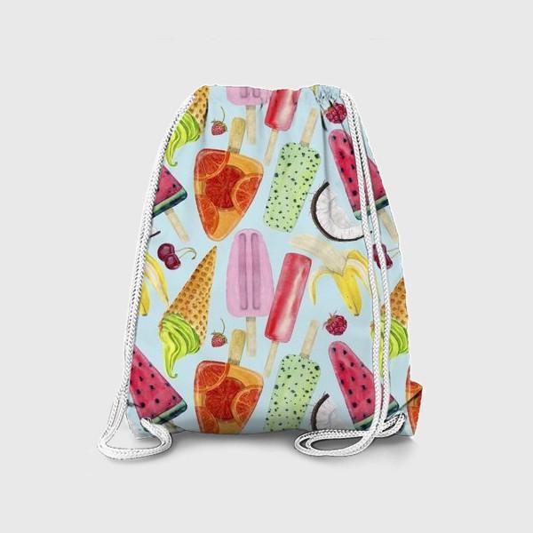 Рюкзак «мороженое, фрукты, ягоды »