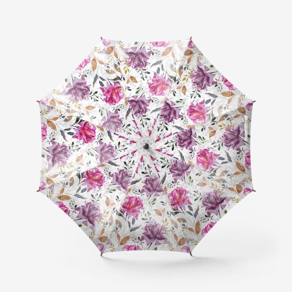 Зонт «Summer rose pattern»