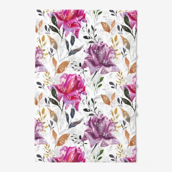 Полотенце «Summer rose pattern»