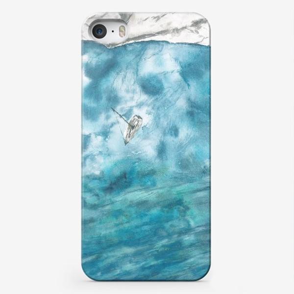 Чехол iPhone «Морская гладь»
