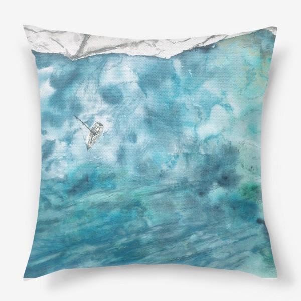 Подушка «Морская гладь»