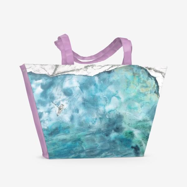 Пляжная сумка «Морская гладь»