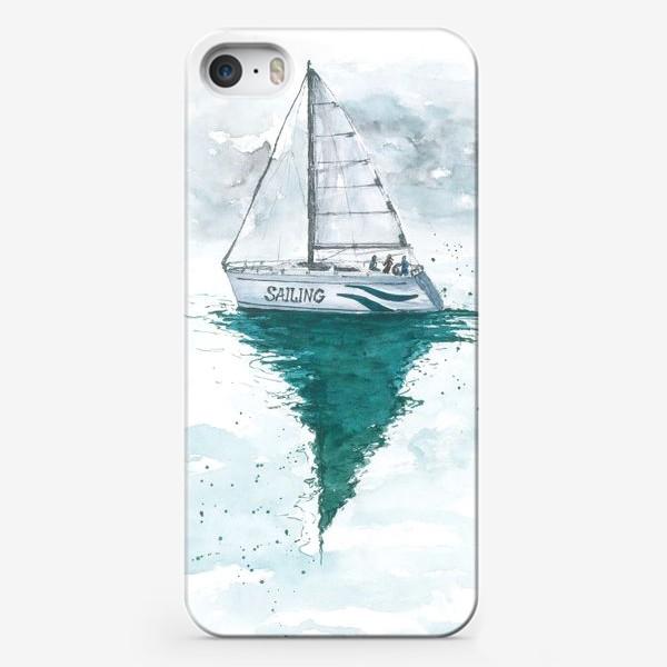 Чехол iPhone «Морская серия: Яхта»
