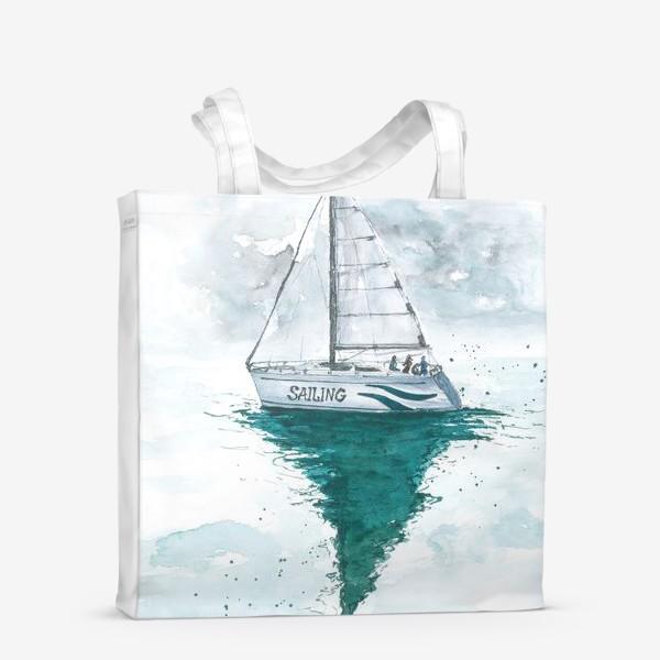 Сумка-шоппер «Морская серия: Яхта»