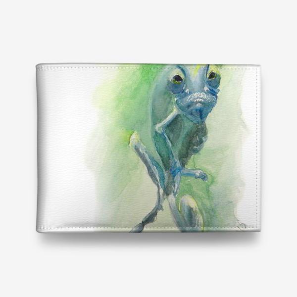 Кошелек «Синий хамелеон»