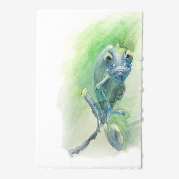 Полотенце «Синий хамелеон»