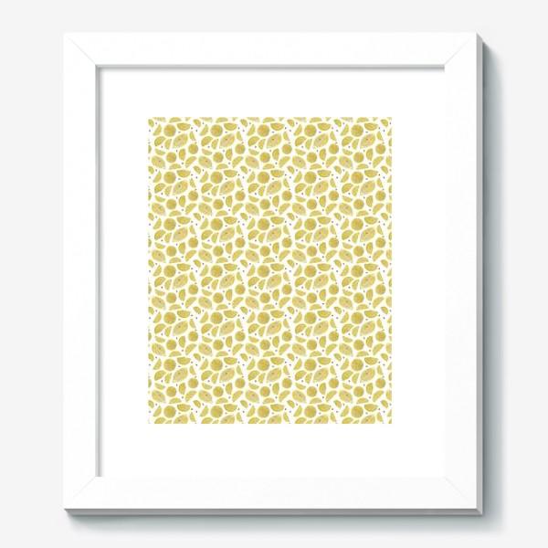 Картина «Сочные лимоны паттерн»