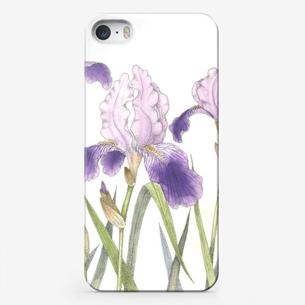 Чехол iPhone «Ирисы 2»