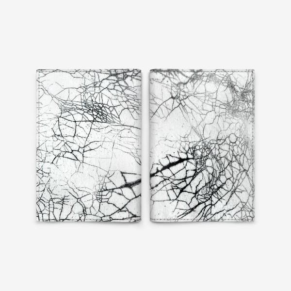 Обложка для паспорта «Абстракция. Кракелюр»