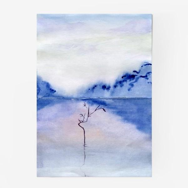 Постер «Акварельный пейзаж.»