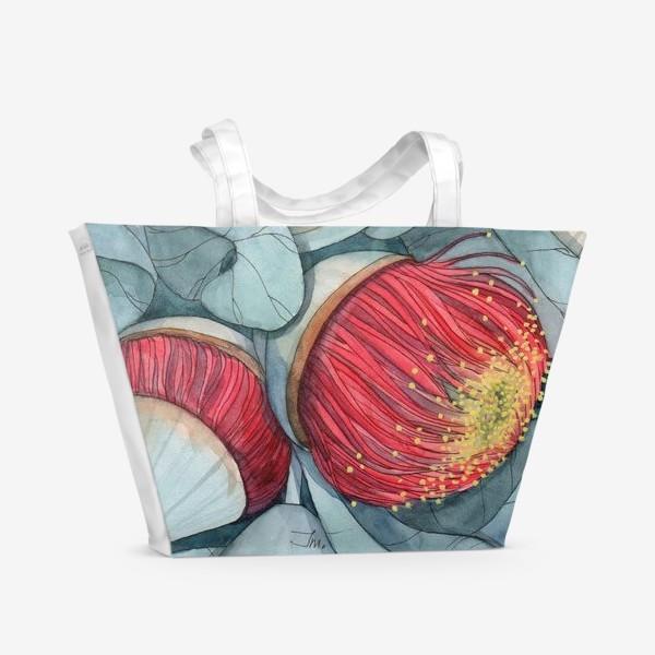 Пляжная сумка «Эвкалипт»