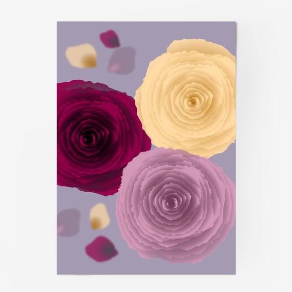 Постер «Розы.»