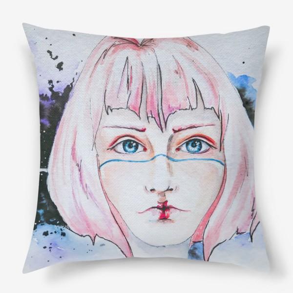 Подушка «Девушка из космоса»