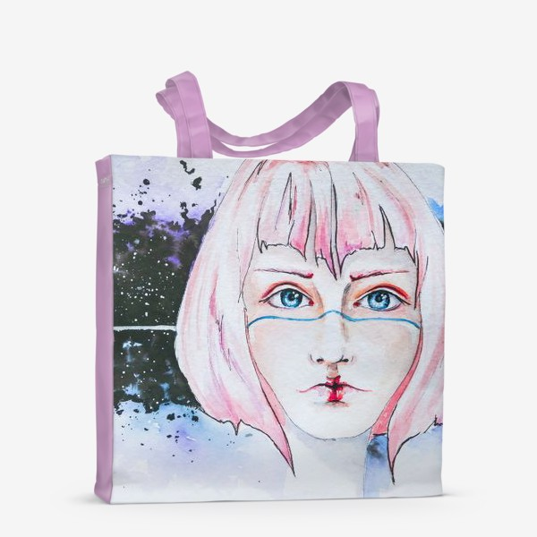Сумка-шоппер «Девушка из космоса»