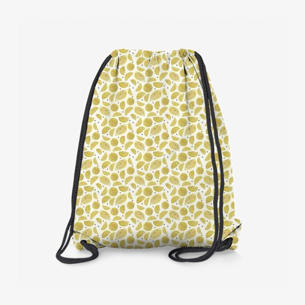 Рюкзак «Сочные лимоны паттерн»