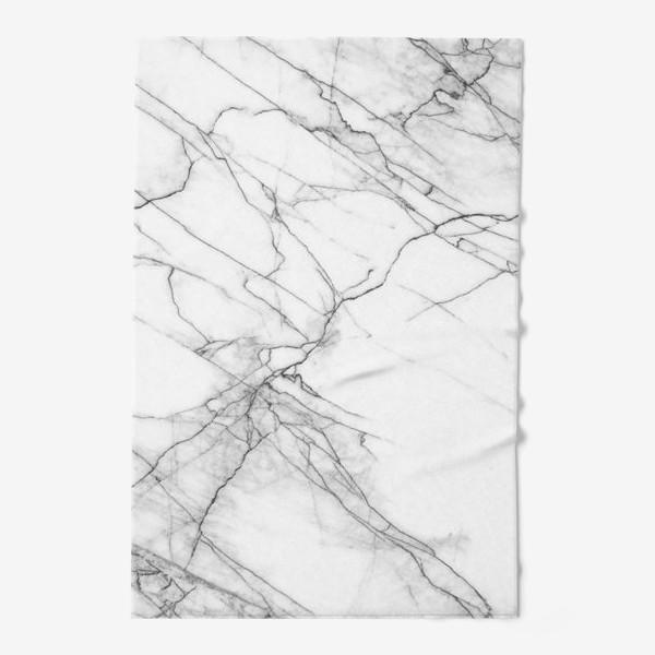 Полотенце «Мрамор серый современный скандинавский принт»