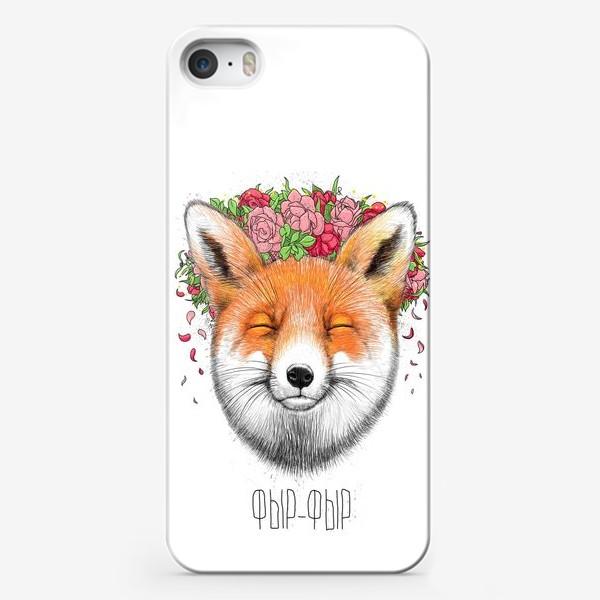Чехол iPhone «Лиса фыр-фыр»