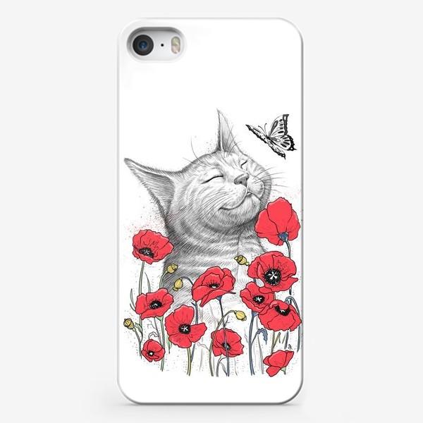 Чехол iPhone «Кошка в Маках»