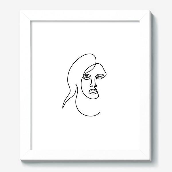 Картина «Девушка. Одна линия»