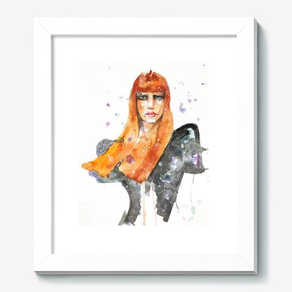 Картина «Рыжая девушка»