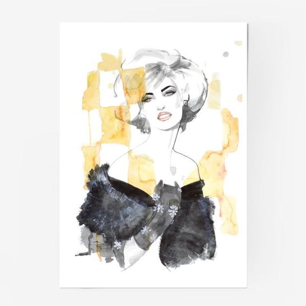 Постер «Блондинка »