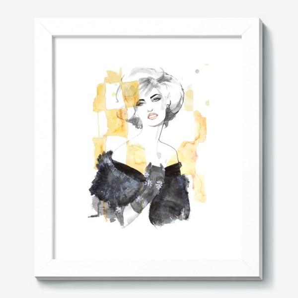 Картина «Блондинка »