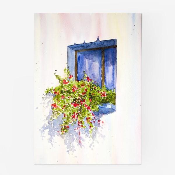 Постер «Окно во двор»