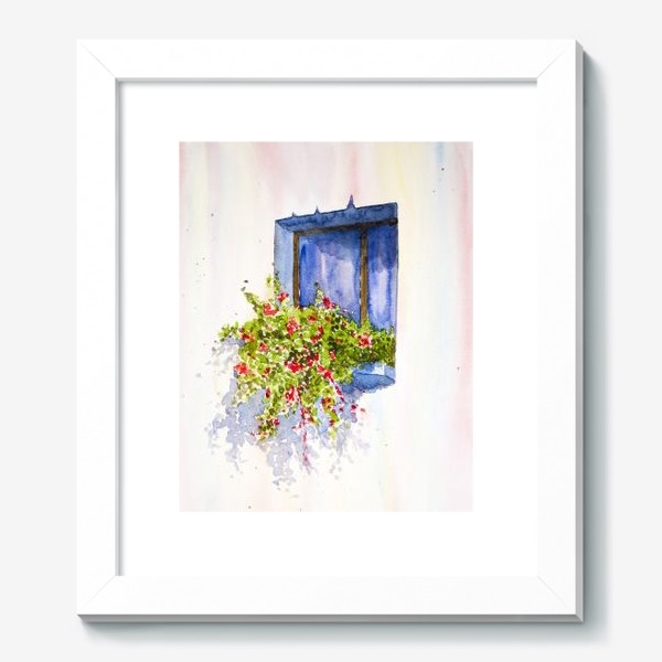 Картина «Окно во двор»