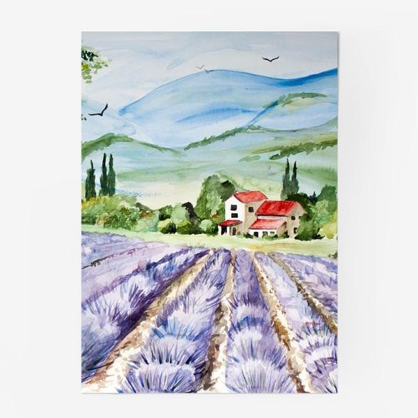 Постер «Лавандовое поле в Провансе»