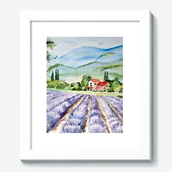 Картина «Лавандовое поле в Провансе»
