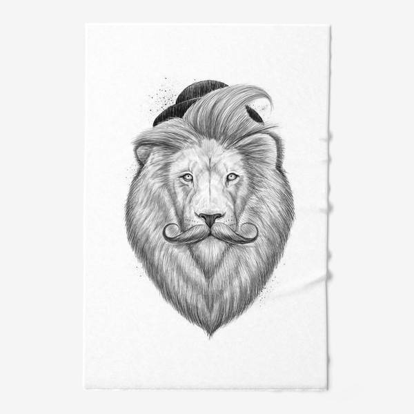 Полотенце «Лев хипстер»