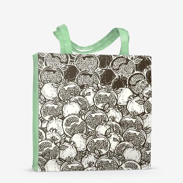 Сумка-шоппер «Graphic pomegranates»