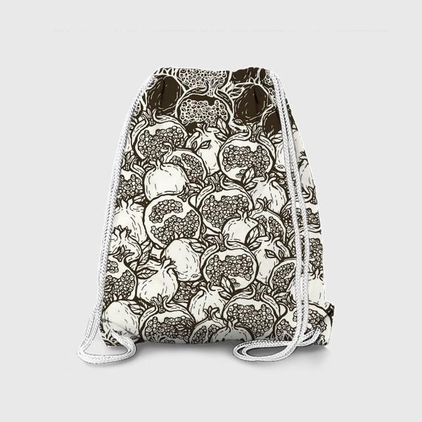Рюкзак «Graphic pomegranates»