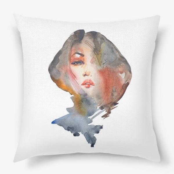 Подушка «Модная прическа»